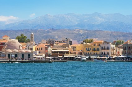 Chania Crete Information Cruises From Sydney Australia