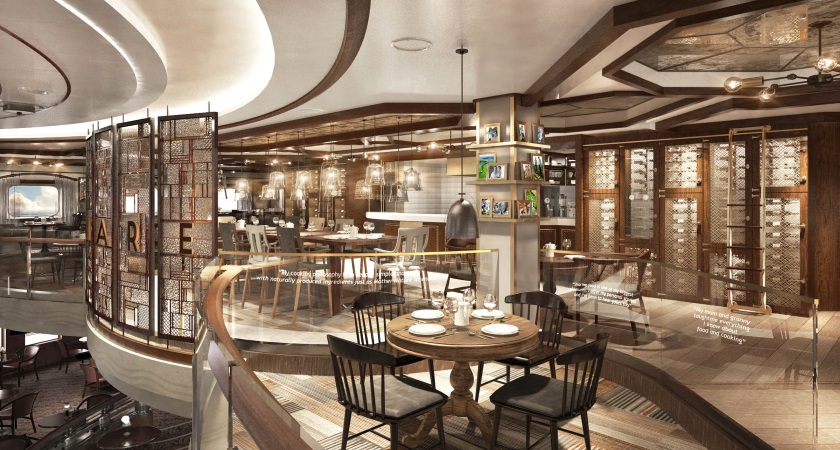 Princess Cruises' new specialty restaurant