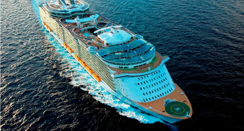 Get on board the biggest cruise ships in the Caribbean!