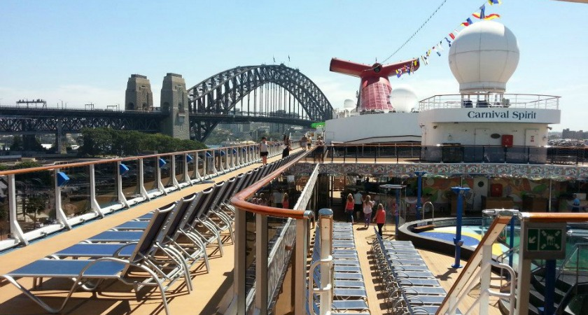 The Carnival Spirit is staying in Sydney for 2018