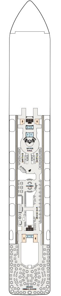 Riviera Deck 6 layout