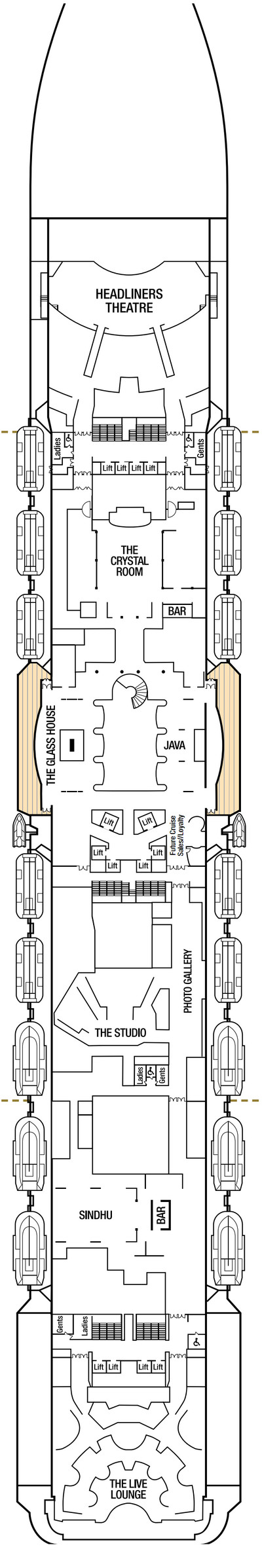 Britannia Deck 7 layout
