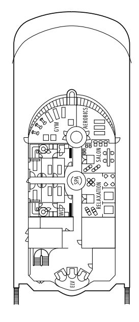 Seven Seas Navigator Deck 12 layout