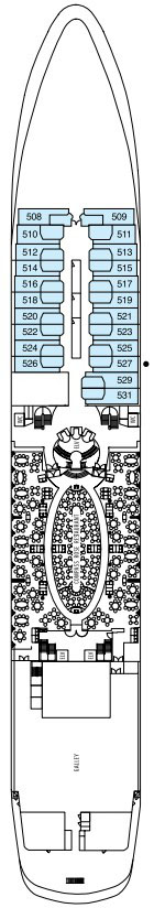 Seven Seas Navigator Deck 5 layout