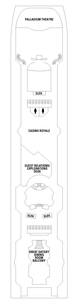 Grandeur Of The Seas Deck 5 layout