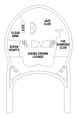 Independence Of The Seas Deck 14 layout