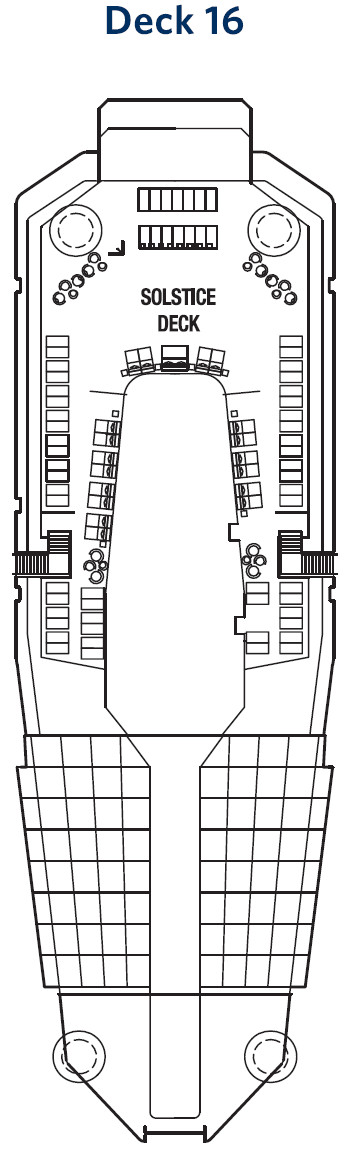 Celebrity Reflection Deck 16 layout
