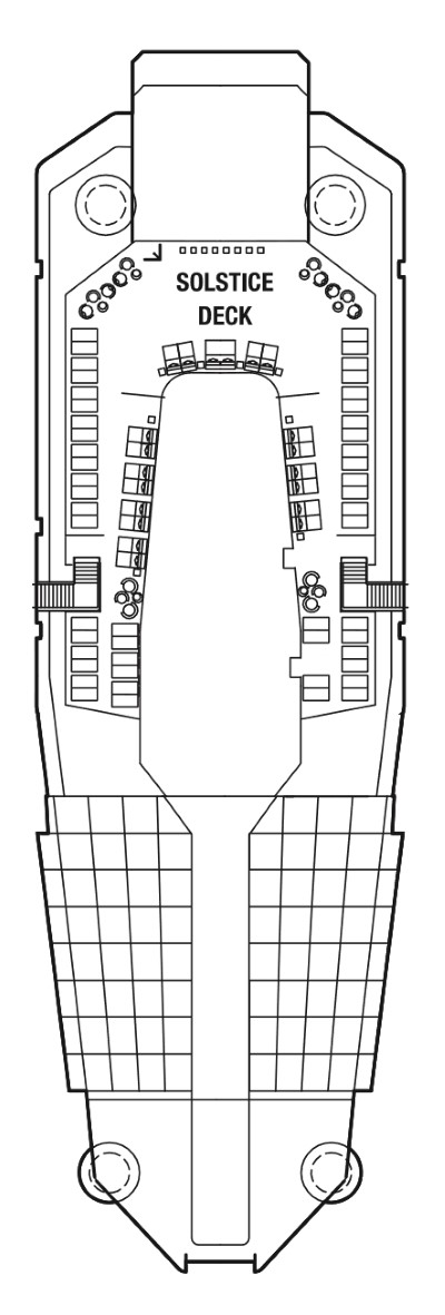Celebrity Solstice Deck 16 layout