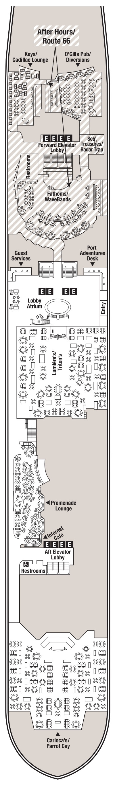 Disney Magic Deck 3 layout