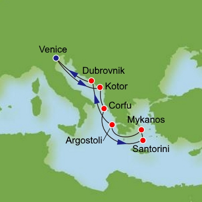 Greek Isles Cruises From Sydney Australia