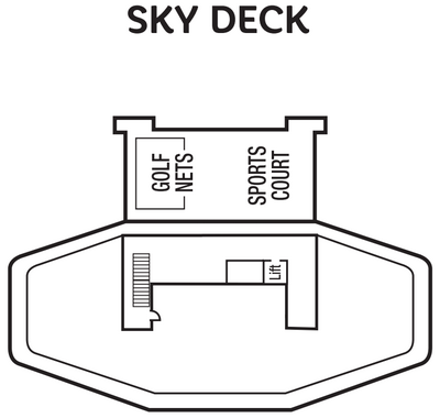 Azura Sky Deck layout