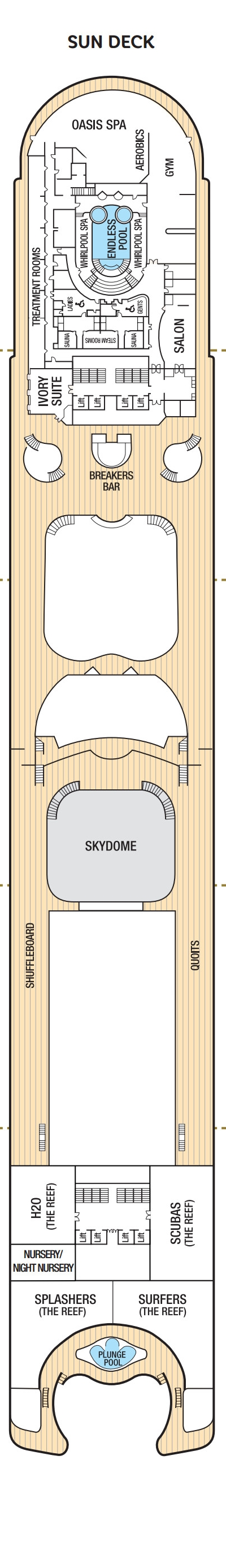 Ventura Sun Deck layout