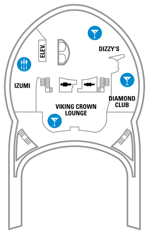 Explorer Of The Seas Deck 14 layout
