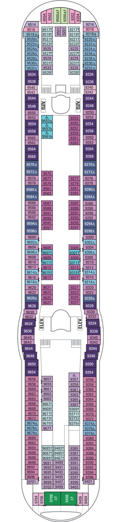 Independence Of The Seas Deck 9 layout
