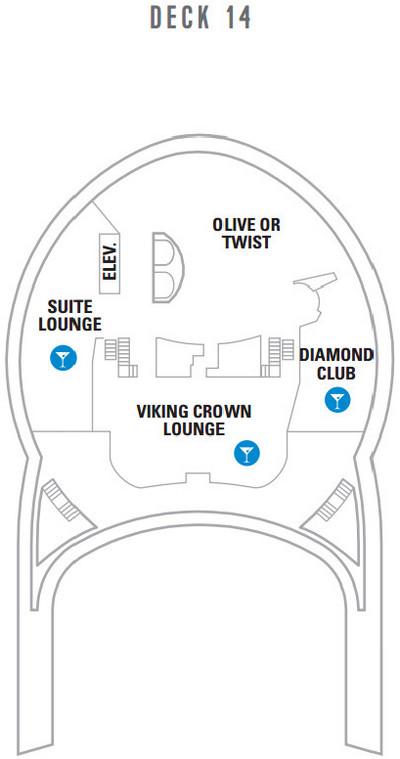 Liberty Of The Seas Deck 14 layout