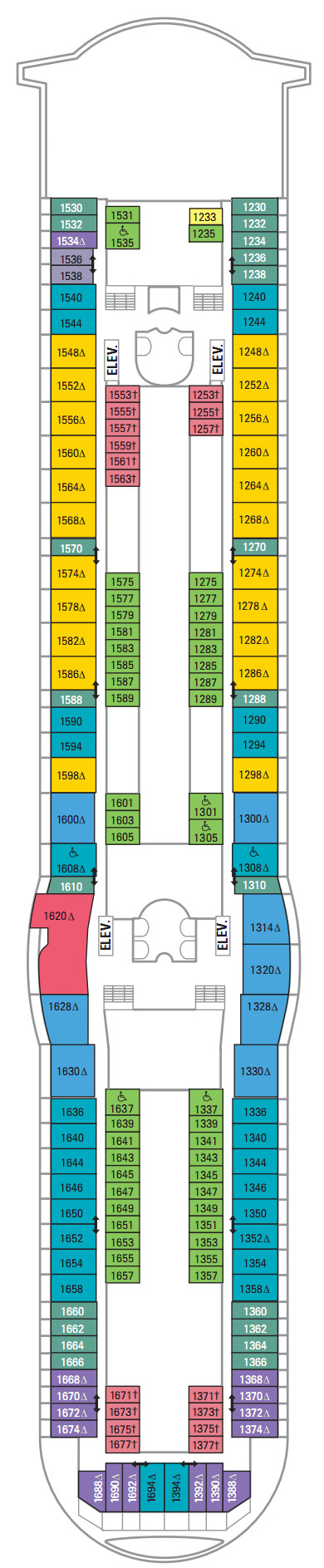 Navigator Of The Seas Deck 10 layout