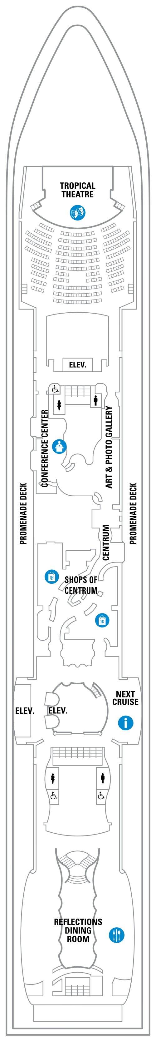 Serenade Of The Seas Deck 5 layout