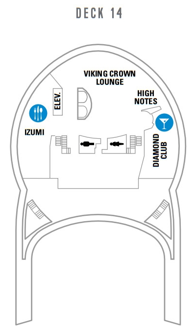 Voyager Of The Seas Deck 14 layout