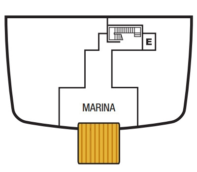 Seabourn Ovation Deck 3 layout