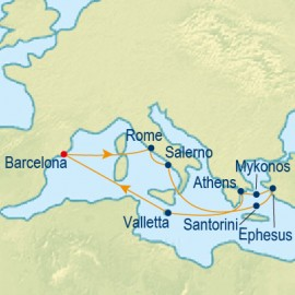 Italy and Greek Isles