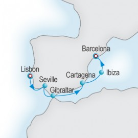 The Pillars of Hercules Itinerary