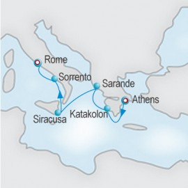 Across The Ionian Sea Itinerary