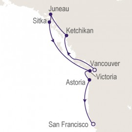 Vancouver to San Francisco Itinerary