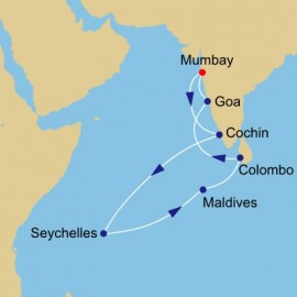 Seychelles and Maldives Itinerary