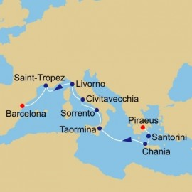 Across The Mediterranean Itinerary