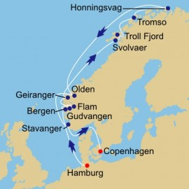 Beyond the Arctic Circle Itinerary