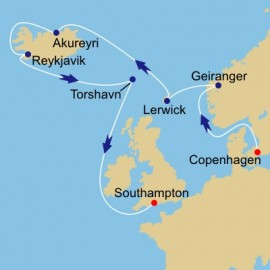 Fjords and Iceland Itinerary