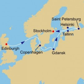 Scotland to Baltics Itinerary