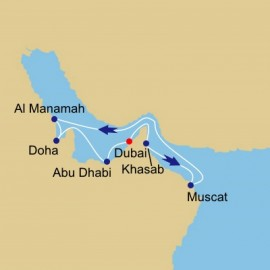 Arabian Gulf And Emirates Itinerary