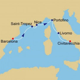 Summer Along The Riviera Itinerary