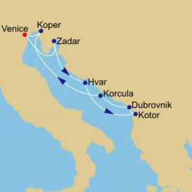 Croatia Inside Passage Itinerary