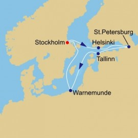 Scandinavia And Russia Azamara Club Cruises Cruise