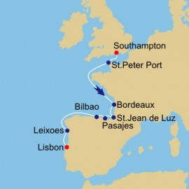France Spain And Portugal Azamara Club Cruises Cruise