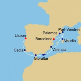 Portugal Spain  And France Azamara Club Cruises Cruise