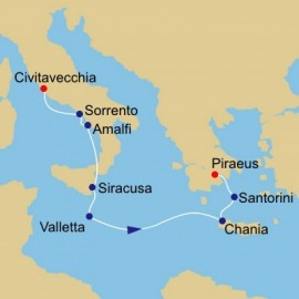 Amalfi Sicily And Greece Azamara Club Cruises Cruise
