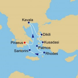 History Of The Aegean Azamara Club Cruises Cruise