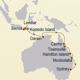Great Barrier Reef and Gold Coast Itinerary