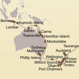 New Zealands Isles and Coral Sea Cruise