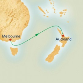 Melbourne to Auckland Princess Cruises Cruise
