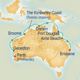 Northern and Western Australia Explorer Princess Cruises Cruise