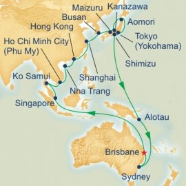China and Japan Cruise