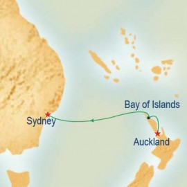 Auckland to Sydney Cruise