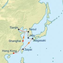 China and South Korea Itinerary