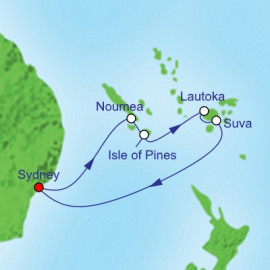 South Pacific And Fiji Cruise