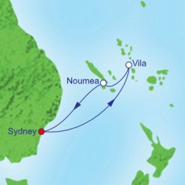 South Pacific and New Year Cruise
