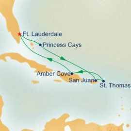 Holiday Eastern Caribbean Itinerary